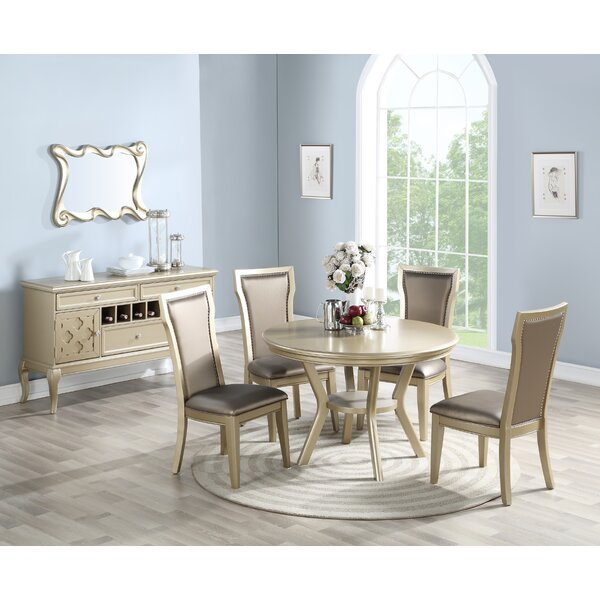 Brandes 5 Piece Dining Set by House of Hampton