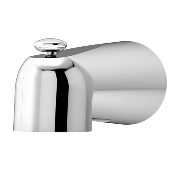 Dia  Handle Wall Mounted Tub Spout Trim With Diverter By Symmons