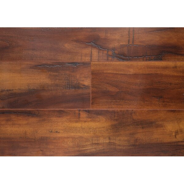 Tripple Moisture 5 x 48 x 12mm Oak Laminate Flooring by Chic Rugz
