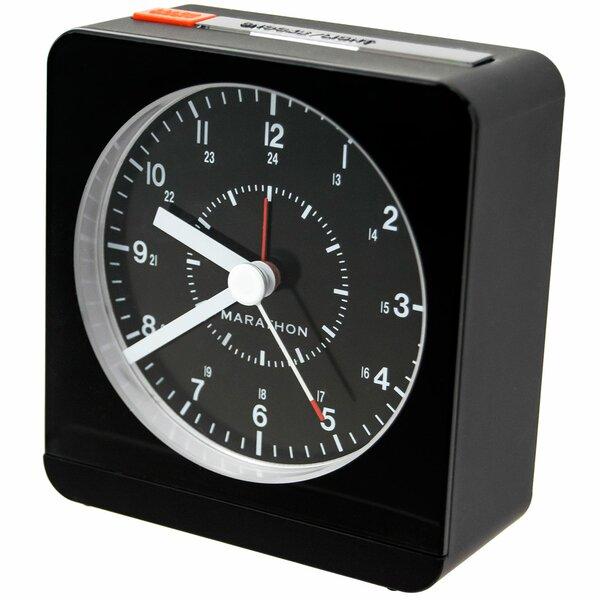 Desk Alarm Clock by Marathon Watch Company