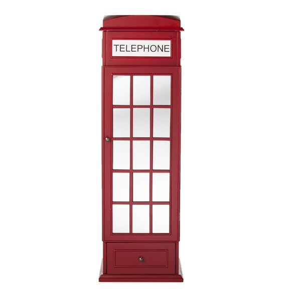 Benedict Phone Booth Free Standing Jewelry Armoire by Latitude Run