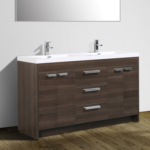 Zuzanna 60 Double Bathroom Vanity Set by Orren Ellis