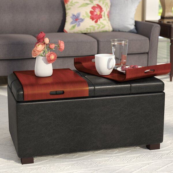 Thelonius Storage Ottoman by Andover Mills Andover Mills™