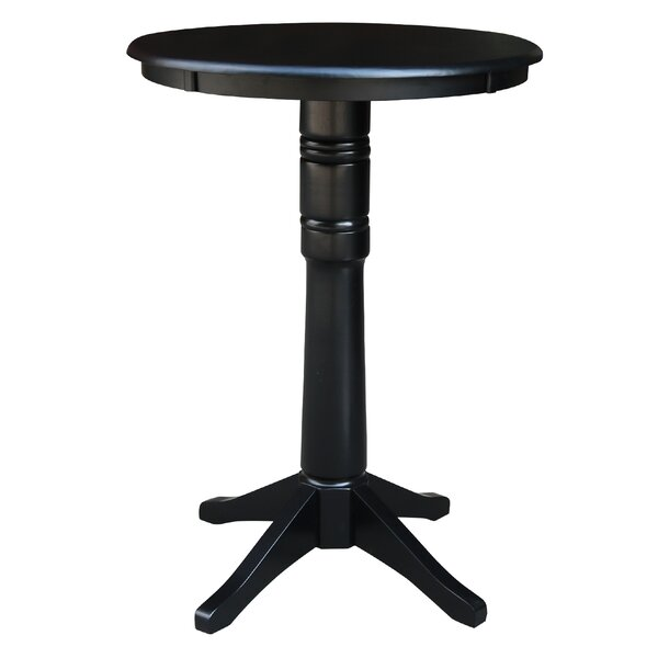 Gilbertsville Round Pub Table by Charlton Home