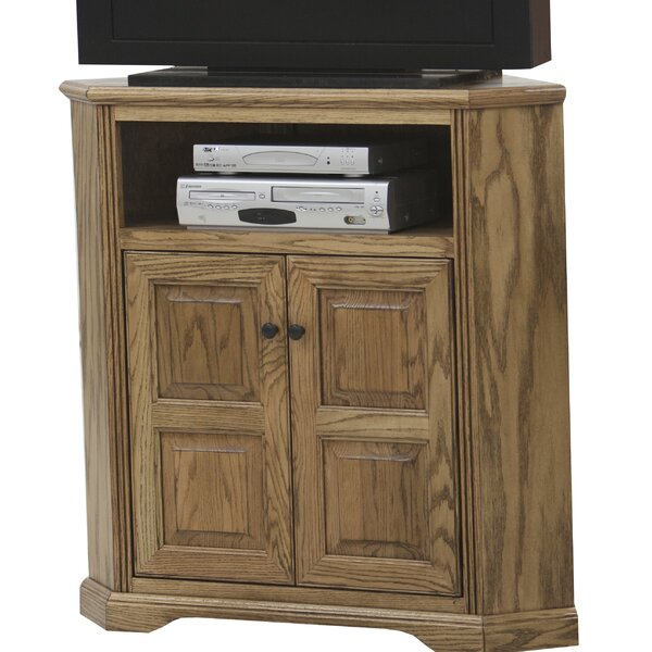 Brecken Solid Wood TV Stand For TVs Up To 50