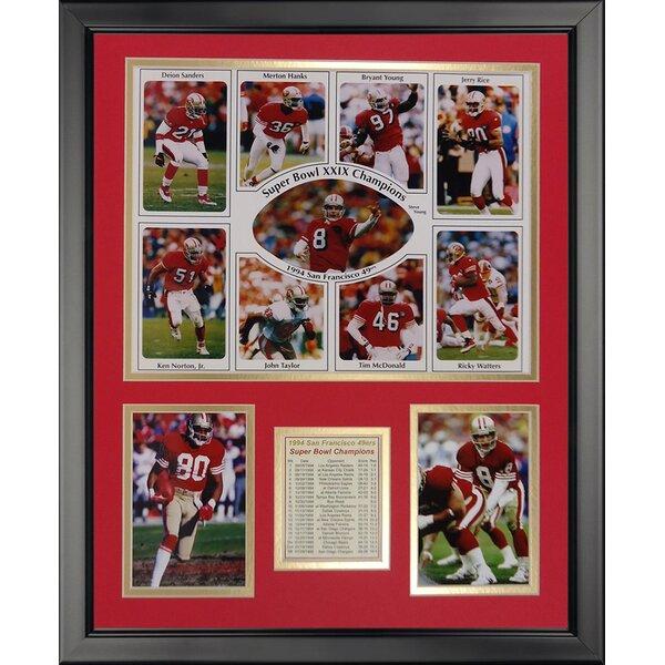 NFL San Francisco 49ers - 1994 Champs Framed Memorabili by Legends Never Die
