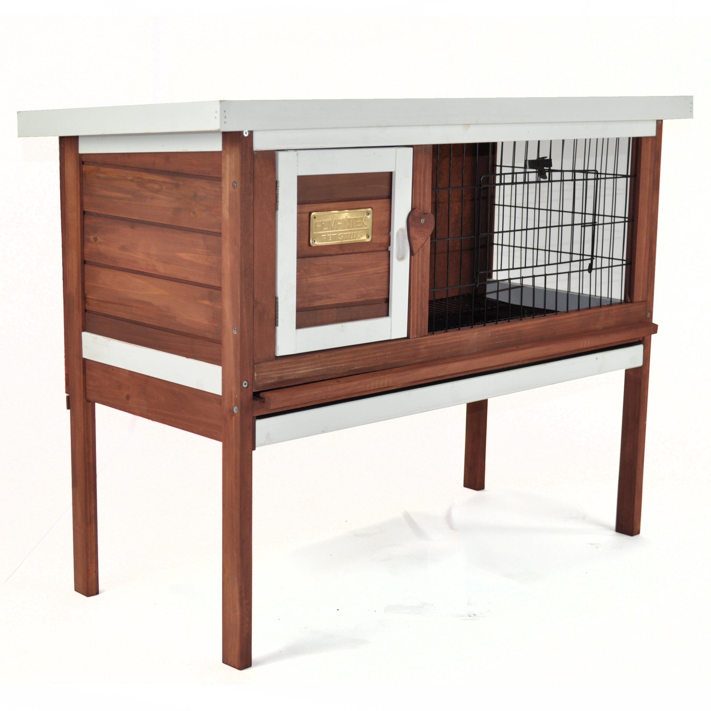 animal rabbit wood wayfair reviews ca pdp hutch solid pet murphy carina cage tucker