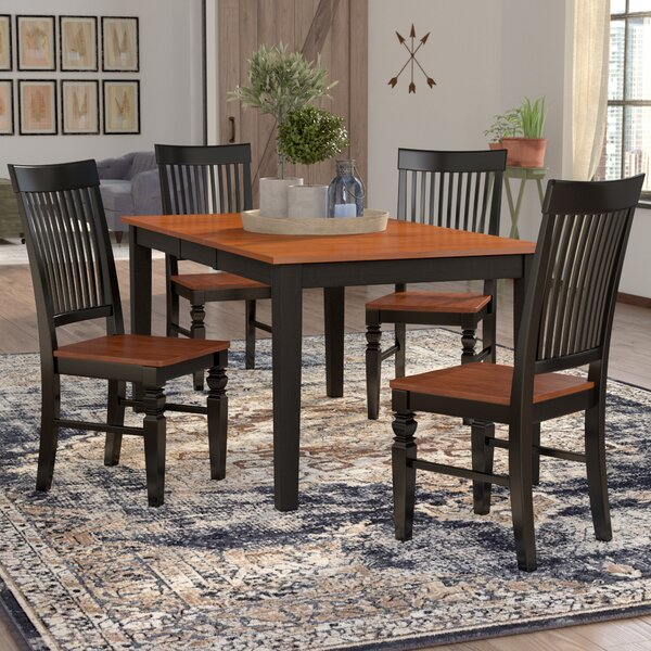 Cleobury 5 Piece Extendable Breakfast Nook Dining Set by August Grove