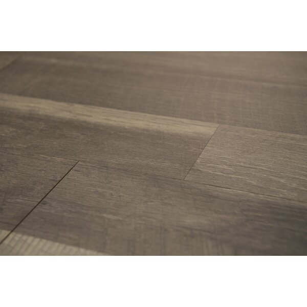 Porto 9 x 48 x 8mm Oak Laminate Flooring in Brown by Branton Flooring Collection