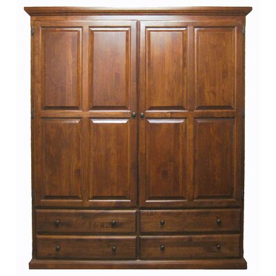 Horton Armoire Loon Peak Finish: Golden Oak