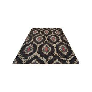 Brandt Hand-Tufted Wool Brown/Beige Area Rug