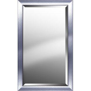Rosdorf Park Rectangle Pattern Beveled Accent Mirror