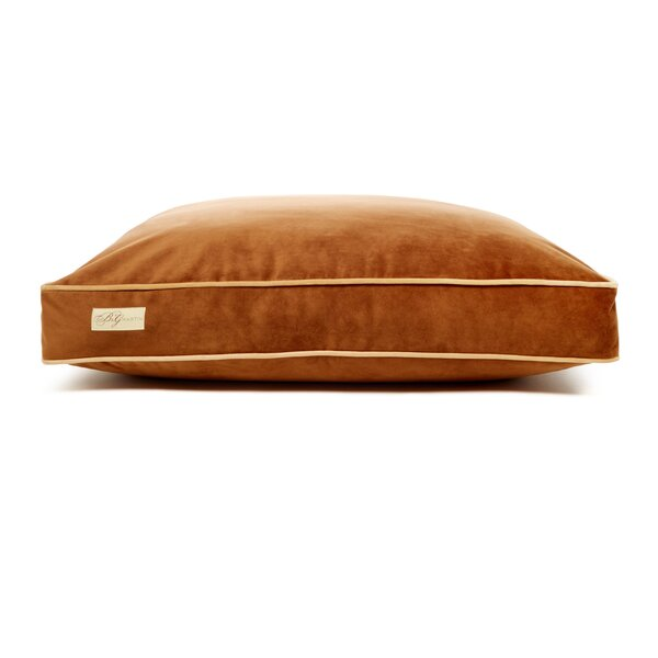 Microsuede Faux Down Cushion Dog Bed by B&G Martin