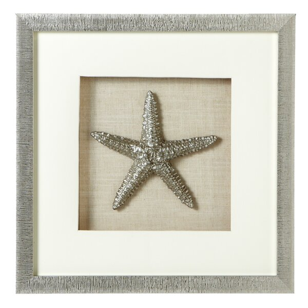 Starfish Shadow Box Wall Decor by Rosecliff Heights