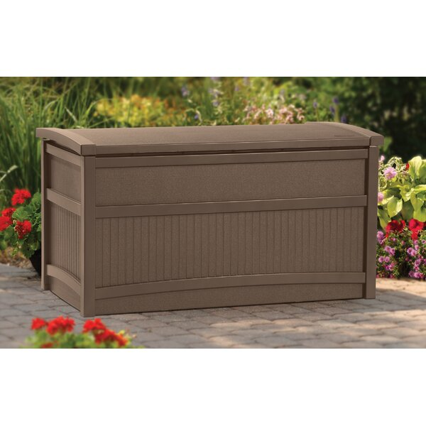 Outdoor 50 Gallon Resin Deck Box by Suncast Suncast