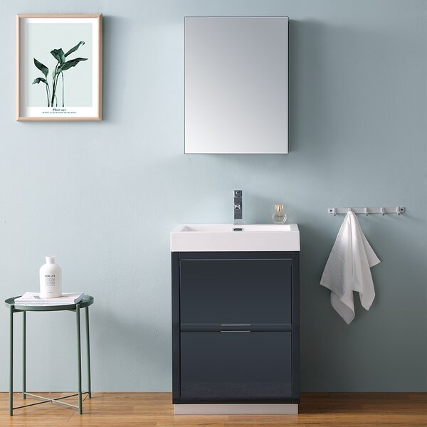 Senza Valencia 24 Single Bathroom Vanity Set by Fresca