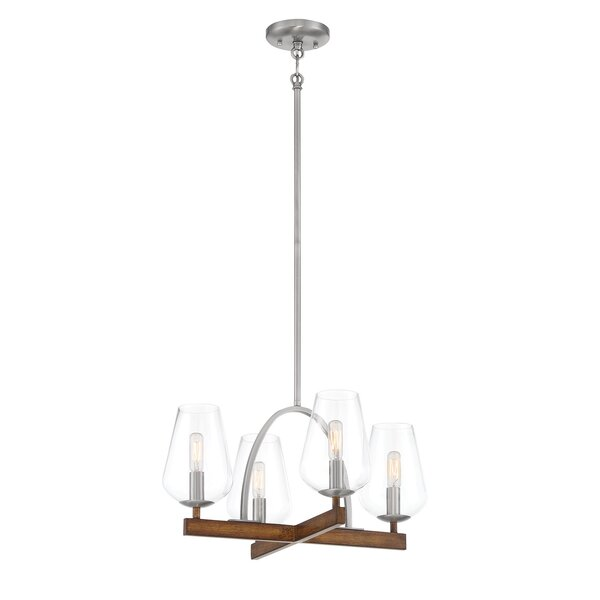 Volfango 4 Light Candle Style Empire Chandelier By Gracie Oaks