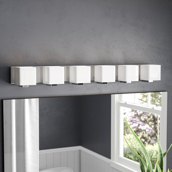 Arham 6-Light Bath Bar by Wade Logan