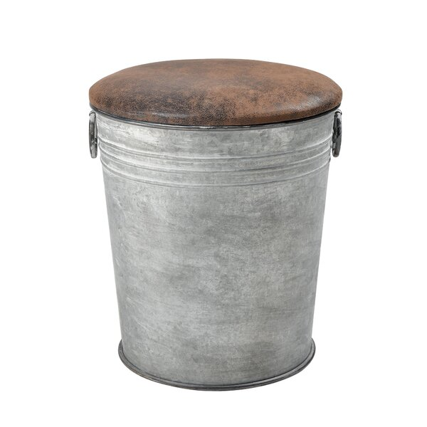Kemba Metal Accent Stool By Gracie Oaks