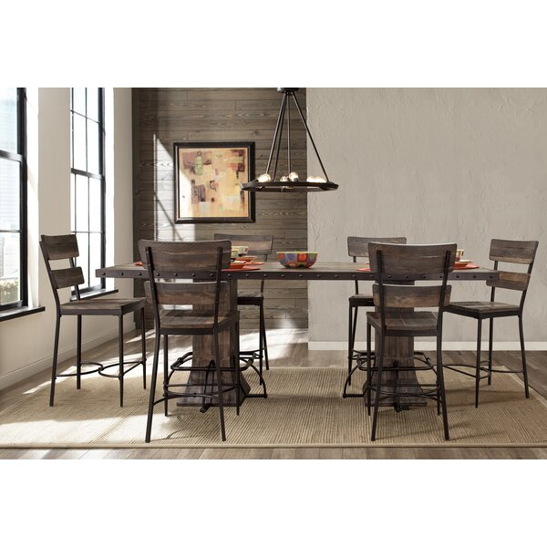 Cathie 7 Piece Counter Height Dining Set by Gracie Oaks