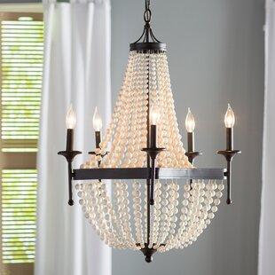 Great choice Burlington 5-Light Empire Chandelier By One Allium Way