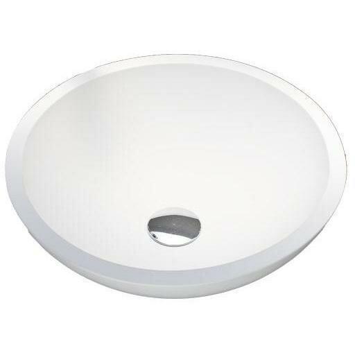 Stone Circular Vessel Bathroom Sink by AGM Home Store