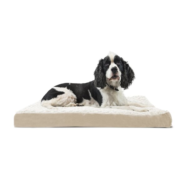 Ernie Ultra Plush Deluxe Ortho Pet Bed by Archie &
