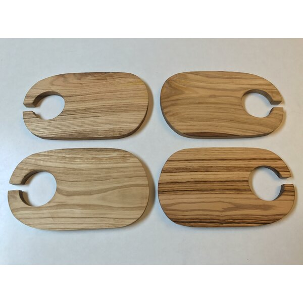 Weimer Hand-Crafted Cocktail Plate (Set of 4) by Latitude Run