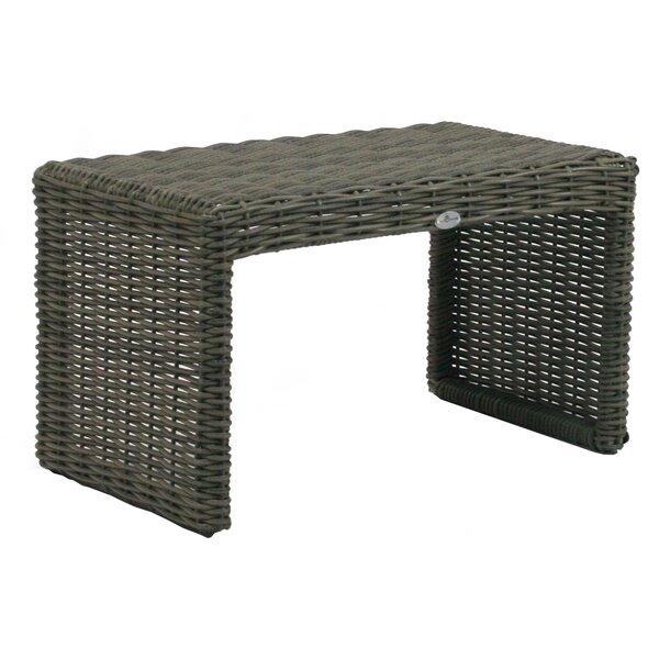 Palisades Wicker/Rattan Side Table by Patio Heaven Patio Heaven