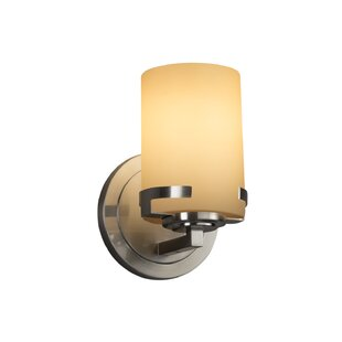 Price Check Luzerne 1-Light 9W LED Arm Sconce By Brayden Studio
