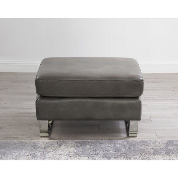 Caple Leather Ottoman By Mercer41