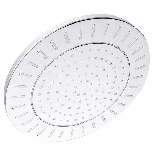 Round Single Spray Rain Adjustable Shower Head by AKDY