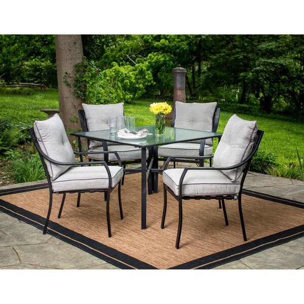 Bozarth 5 Piece Dining Set by Darby Home Co