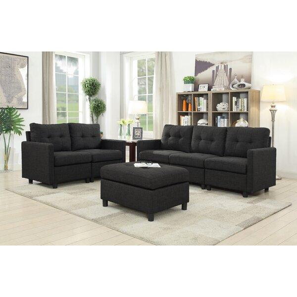 Horley 3 Piece Living Room Set by Brayden Studio