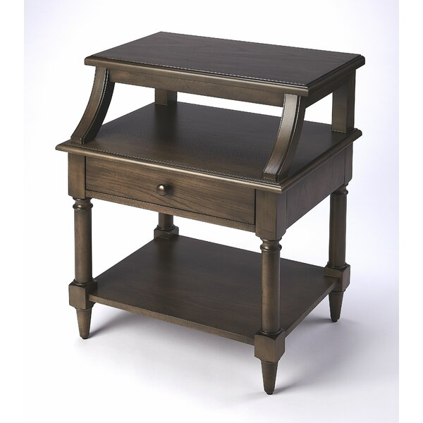 Kasandra End Table with Storage by One Allium Way One Allium Way