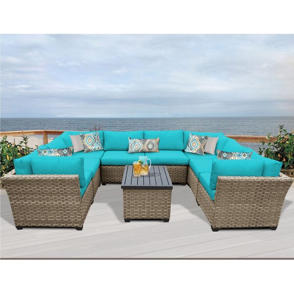 Rushden 9 Piece Sectional Set with Cushions by Sol 72 Outdoor