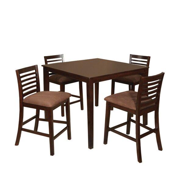 Sydney 5 Piece Counter Height Dining Set
