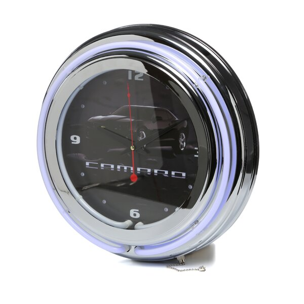 14 Camaro Wall Clock by Trademark Global