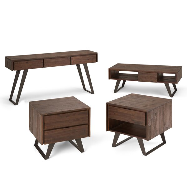 Elle 4 Piece Coffee Table Set by Union Rustic