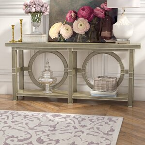 Tristram�Console Table by House of Hampton