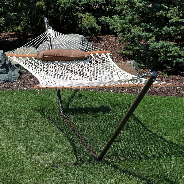 Kyleigh Cotton Hammock with Stand by Freeport Park