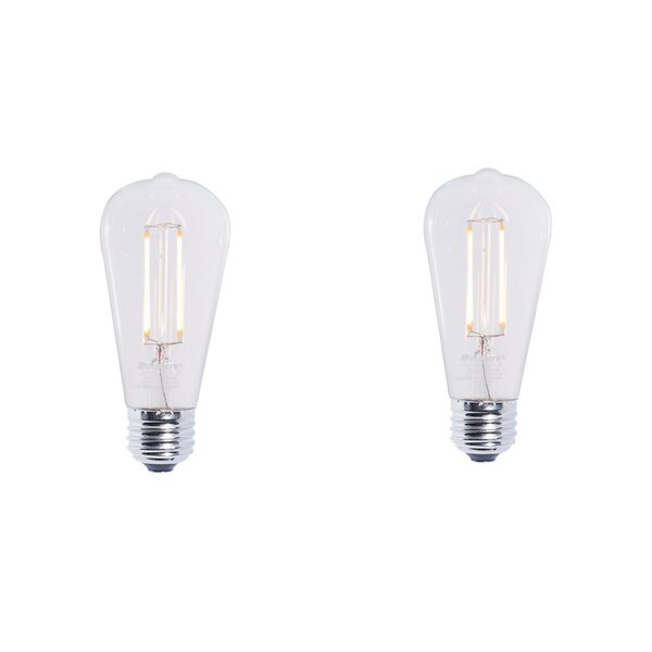 7W E26 Dimmable Halogen Light Bulb (Set of 2) by Bulbrite Industries