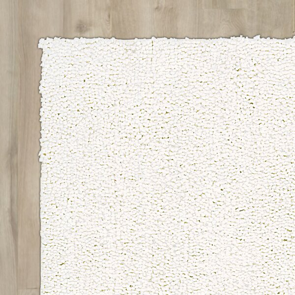 Carnlough North Hand-Woven White Area Rug by Corri