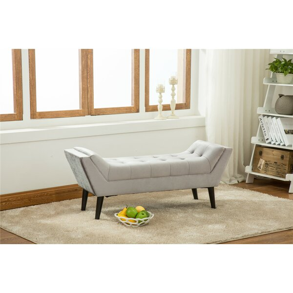 Dannie Upholstered Bench By Rosdorf Park Read Reviews