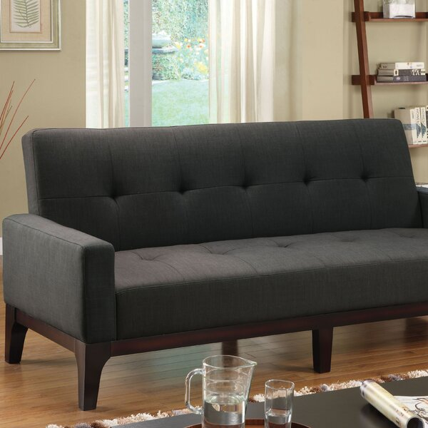 Callisto Fabric Sleeper Sofa by Hokku Designs