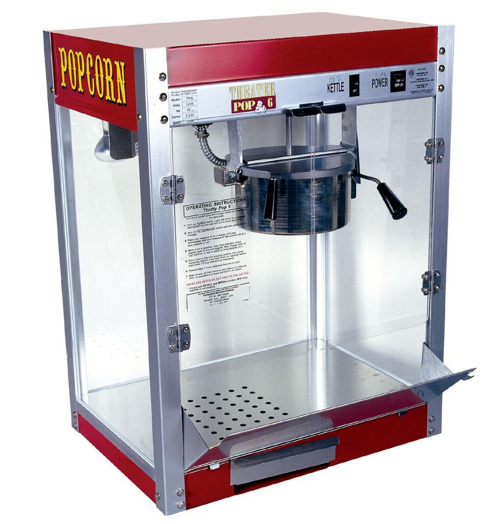 New Contempo Pop 4 Oz Popcorn Popper Machine By Paragon Vending Tabletop Concessions Co Tabletop Concession Machines