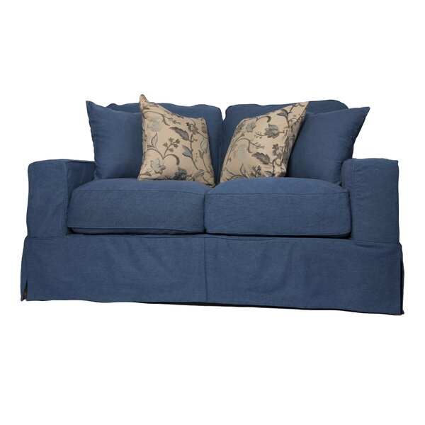Oxalis Sofa Slipcover by Breakwater Bay