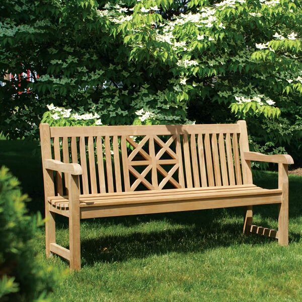 Hestercombe Teak Garden Bench by Jewels of Java