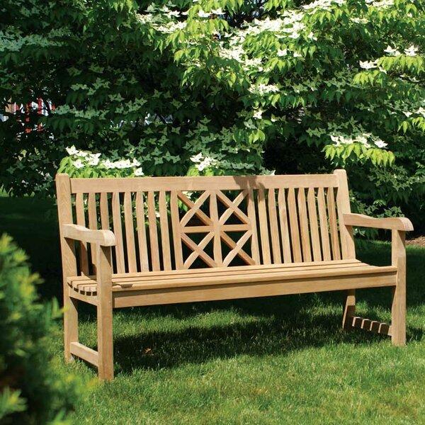 Hestercombe Teak Garden Bench by Jewels of Java