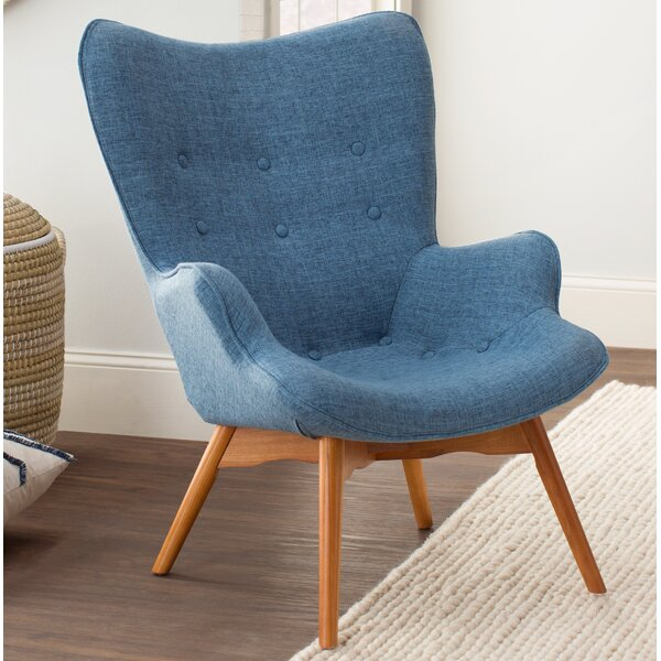 @ Canyon Vista Mid-Century Lounge Chair by Langley Street| #$0.00!